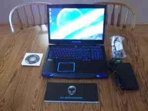 Alienware M17X R3 Gaming Laptop, 640GB, 8GB,Sandy Bridge i7 Quad - $1200 Candler