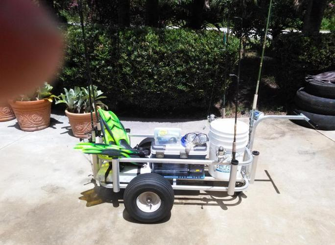 all aluminium fishing cart for sale in vero beach florida