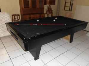 ALL BLACK POOL TABLE (Palmetto For Sale In Sarasota, Florida