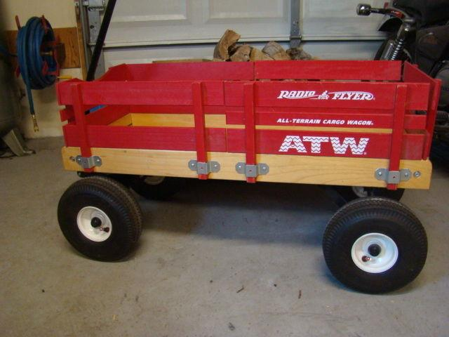 All Terrain Radio Flyer Cargo Wagon