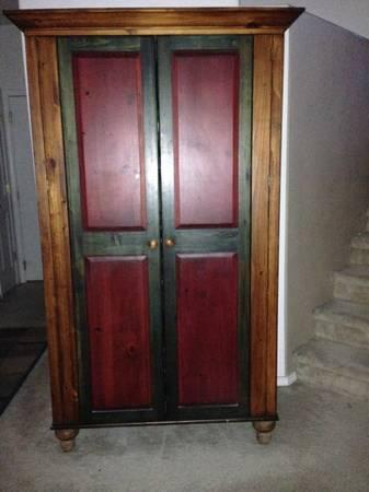 All Wood Armoire Top Quality For Sale In Albuquerque