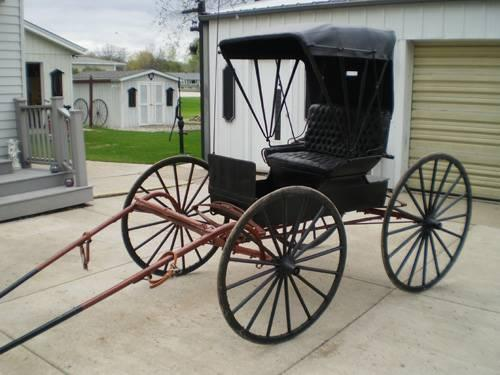 Allenton Horse Drawn Top Buggy Or Doctor S Buggy For