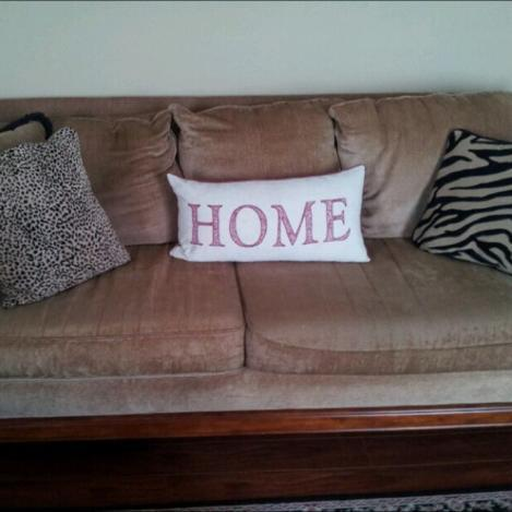 Allis Brothers Couch Very Comfy Brown Tan For Sale In