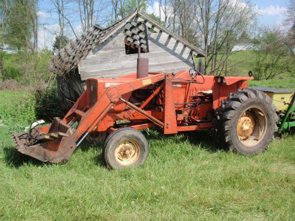 Allis Chalmers 170 Tractor : Allis chalmers tractor ashland ohio for sale in