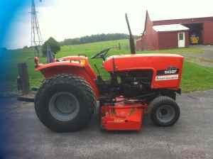 ALLIS CHALMERS 5020 DIESEL TRACTOR - $6000 (CANANDAIGUA NY)