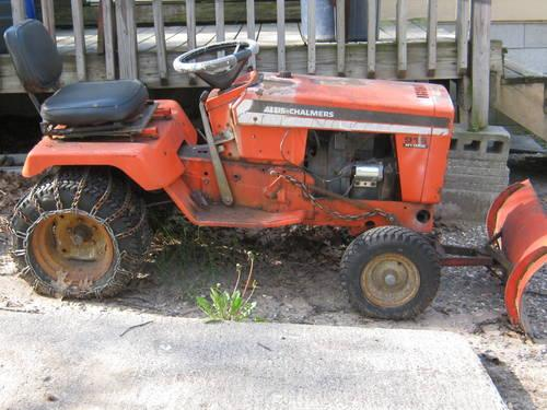 ALLIS CHALMERS 916 HYDRO GARDEN TRACTOR for Sale in ...