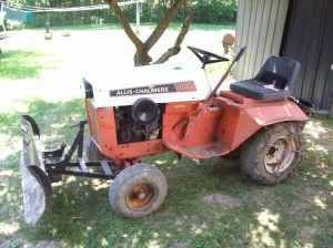Allis Chalmers Garden Tractor - $450 (king ferry ny)