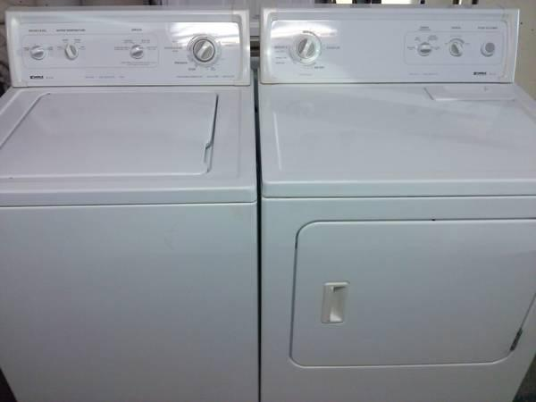 Almost New Kenmore Super Capacity Plus Washer Dryer Set