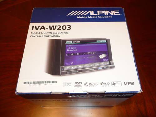 alpine iva-w203