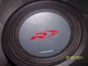 Buy Here Pay Here Raleigh Nc >> Alpine Type R 12 inch subwoofer only! dual 4 ohm sub! - (fuquay varina) for Sale in Raleigh ...