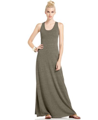 Alternative Apparel Dress Sleeveless Racerback Maxi For Sale In