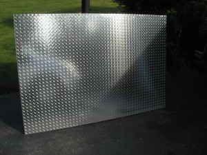 aluminum diamondplate sheets for sale in lima ohio classified. Black Bedroom Furniture Sets. Home Design Ideas