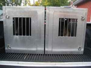 aluminum dog crates 2 350 ne philly