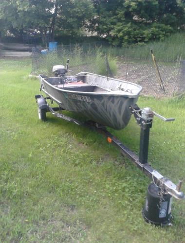 Aluminum fishing boat for sale in forest lake minnesota for Best aluminum fishing boat for the money