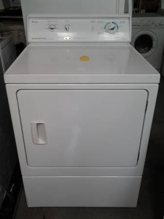 Amana Commercial Quality Elec Dryer White For Sale In