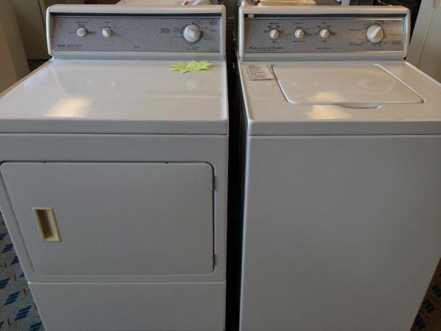 Amana Designer Series Washer Amp Dryer Set Pair Used For