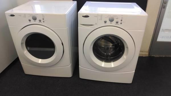 Amana Stackable Frontload Washer Electric Dryer For