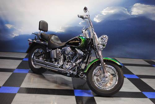 Amazing 2006 Harley Davidson Fatboy Flstfi Motorcycle