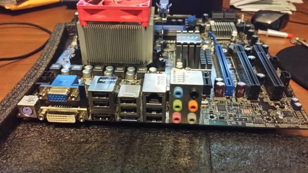 AMD 3+ MSI motherboard micro ATX with HDMI, VGA, DVI - $40