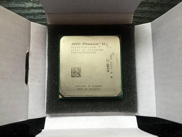 AMD Phenom II X4 965 Black Edition Quad Core 3.4 GHz