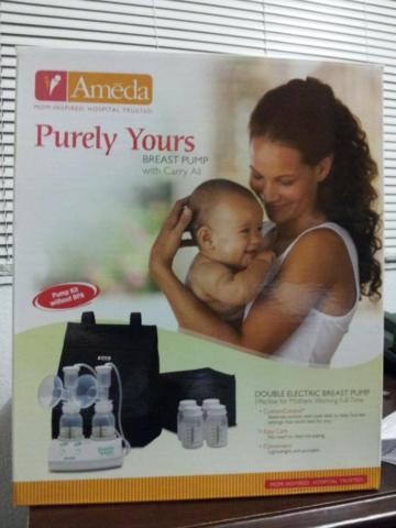 **Ameda Breast Pump - Double Electric - $75**