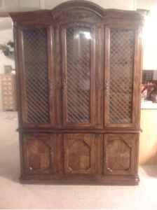 American Drew China Hutch Ponca City For Sale In