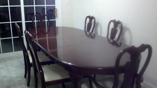 American Drew Formal Dining Set With China Cabinet And