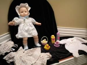 American Girl Doll Bitty Baby W Clothes Toys Excellent Condition