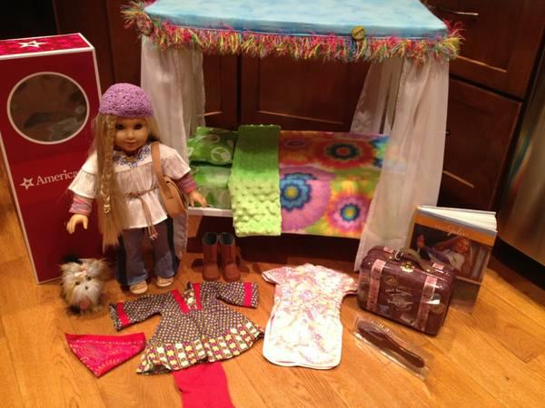 American Girl Doll Julie and Accessories - $150