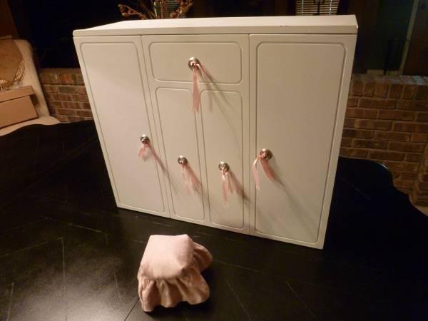 American Girl Wardrobe  Closet - $55