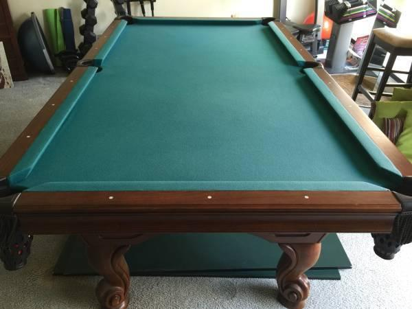 American Heritage Eclipse 8u0027 Pool Table + Ping Pong Top