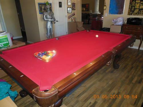 AMERICAN HERITAGE POOL TABLE REDUCED PRICE For Sale In Brooksville - American heritage pool table prices