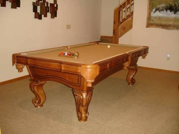 American Heritage Tacoma Light Oak Pool Table For Sale In - American heritage pool table prices