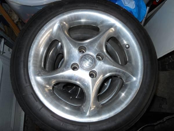 american racing 15 wheels - $350