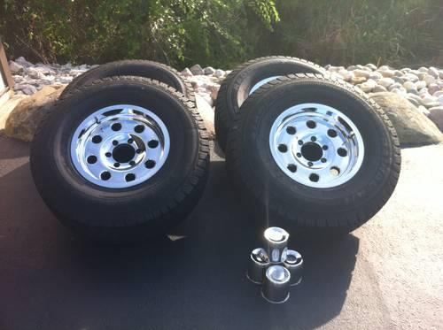 American Racing 16 Truck Wheels With Rubber