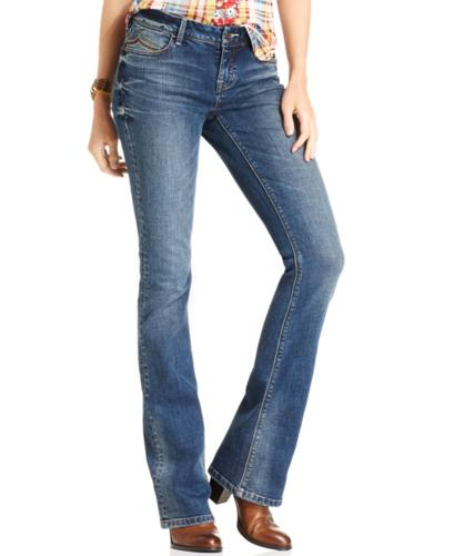 American Rag Juniors Jeans, Bootcut Rave Wash