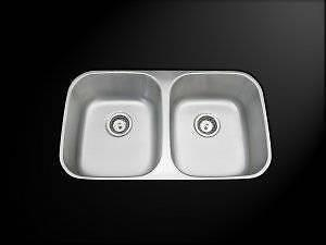 AmeriSink AS1146 Double Bowl Undermount Stainless Steel Kitchen Sink ...