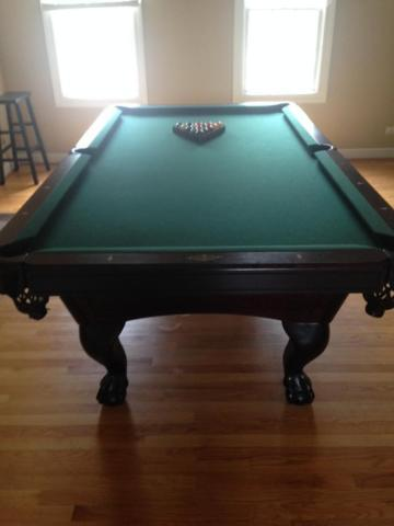 AMF PlayMaster Pool Table For Sale In Elburn Illinois Classified - Amf playmaster pool table