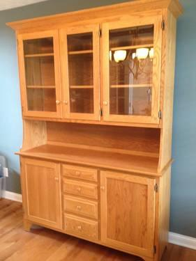 Amish Oak China Cabinet Buffet For Sale In Dayton Ohio