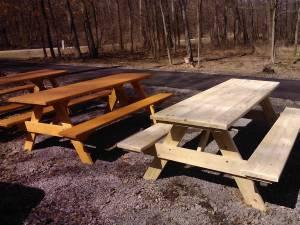 Amish Made Picnic Tables Clintonville For Sale In
