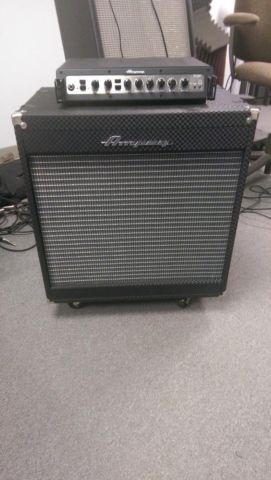 ampeg pf500 115he bass rig for sale in big canoe georgia classified. Black Bedroom Furniture Sets. Home Design Ideas
