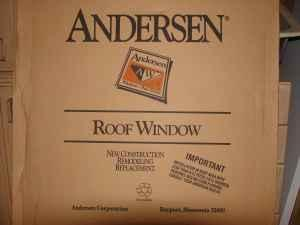Andersen Roof Window Skylight And Flashing Kit New 28 Quot X