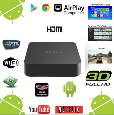 ANDROID TV BOX=FULLY LOADED