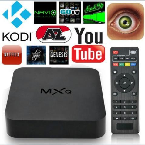 ANDROID TV BOX W/KEYBOARD REMOTE