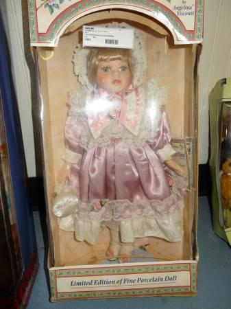 Angelina Collection Porcelain Doll - $50
