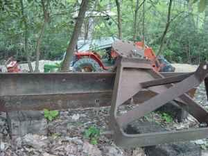 Angle Scraper Blade, 6 foot - $150 (Valle Crucis)