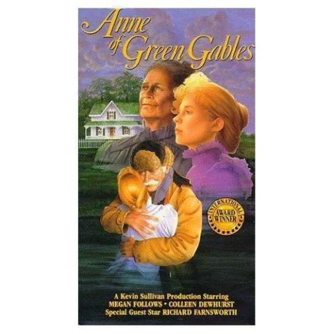 Anne of Green Gables and Anne of Avonlea VHS tapes