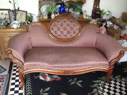 Antique 1800 39 S Victorian Camel Back Chaise For Sale In Portland Oregon Classified