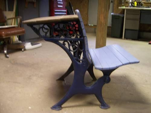 antique 1888 antique school desk for sale in hamilton michigan classified. Black Bedroom Furniture Sets. Home Design Ideas