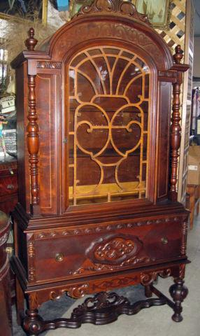 Antique 1920s China Cabinet For Sale In Hempstead New